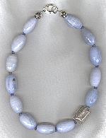 Blue Agate and Lapis necklace FAC8176