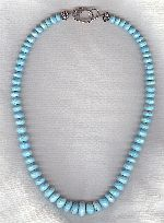 AA quality Sleeping Beauty Turquoise necklace FAC8186