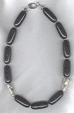 Natural black Coral necklace NUG2790