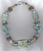 Murano Venetian glass necklace VEN4321
