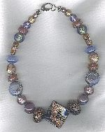 Murano Venetian glass necklace VEN4323