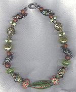 Murano Venetian glass necklace VEN4325