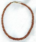 Spessertite Garnet briolette Necklace CC6103