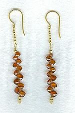 Spessertite Garnet earrings CC6104