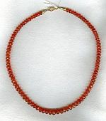 Mexican Fire Opal Necklace CC6102