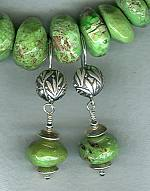 Gaspiete rondel earrings NUG2498