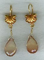 Oregon Sunstone drop earrings CC6144